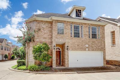 Houston Condo/Townhouse For Sale: 2822 Briarhurst Park Drive