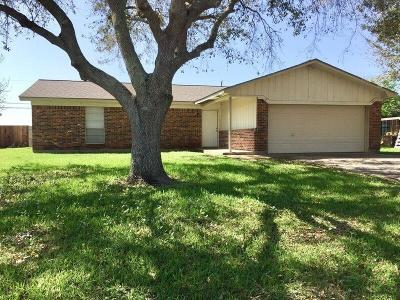 Bay City TX Single Family Home For Sale: $159,500