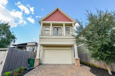 Houston TX Single Family Home For Sale: $520,000