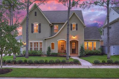 The Woodlands Single Family Home For Sale: 219 Rockwell Park Boulevard