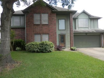 Kemah Single Family Home For Sale: 1703 Oak Ridge Drive