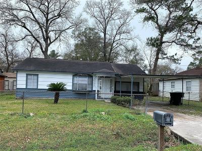 Houston Single Family Home For Sale: 10333 Castleton Street