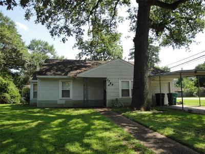 Oak Forest Single Family Home For Sale: 1737 Libbey Drive