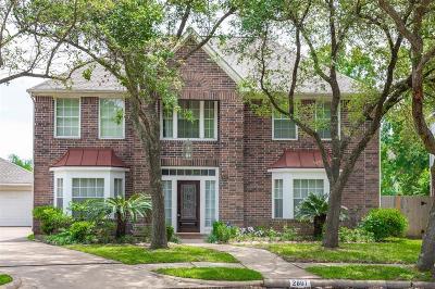 Missouri City Single Family Home For Sale: 2807 Winter Lakes