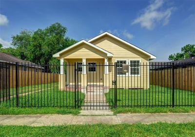 Houston Single Family Home For Sale: 2317 Pannell Street