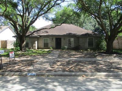 Houston Single Family Home For Sale: 15718 Tumbling Rapids Drive