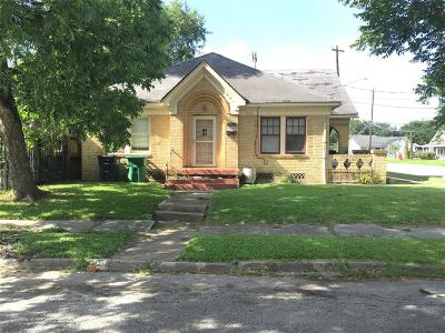 Houston Single Family Home For Sale: 1408 Dismuke Street