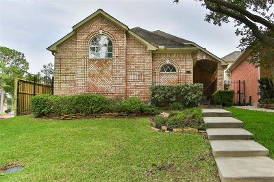 Houston Single Family Home For Sale: 6903 Tournament Drive