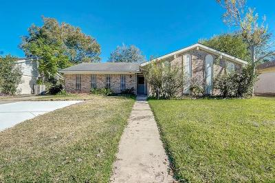 Houston Single Family Home For Sale: 7819 Augustine Drive