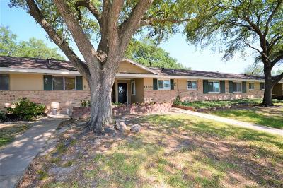 Houston TX Condo/Townhouse For Sale: $94,500