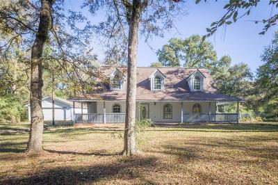 Hockley Single Family Home For Sale: 25150 S Clear Creek Road