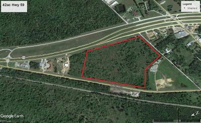 Country Home/Acreage For Sale: 42ac Hwy 59 N