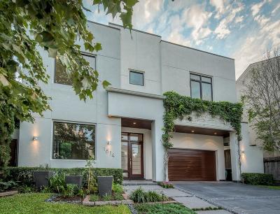 Houston Single Family Home For Sale: 1614 Driscoll Street