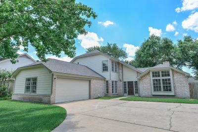 Houston Single Family Home For Sale: 2206 Crystal Hills Drive