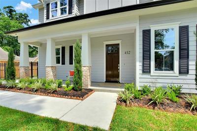 Garden Oaks Single Family Home For Sale: 432 W 34th Street