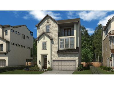 Houston Single Family Home For Sale: 2603 Fountain Key Boulevard