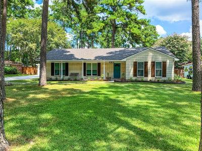 Conroe Single Family Home For Sale: 1535 Memorial Drive