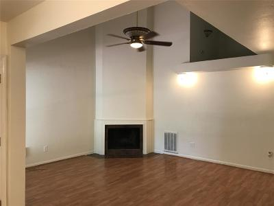 Houston TX Single Family Home For Sale: $1,350