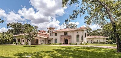 Houston Single Family Home For Sale: 20 E Rivercrest Drive