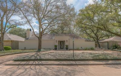 Houston Single Family Home For Sale: 10107 Del Monte Drive
