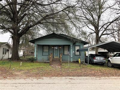 Trinity County Single Family Home For Sale: 413 Elm Street