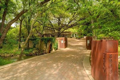 Austin Single Family Home For Sale: 3900 Balcones Drive