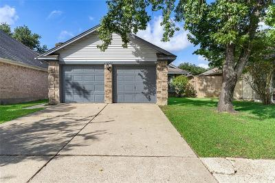 Galveston County, Harris County Single Family Home For Sale: 11622 Gullwood Drive