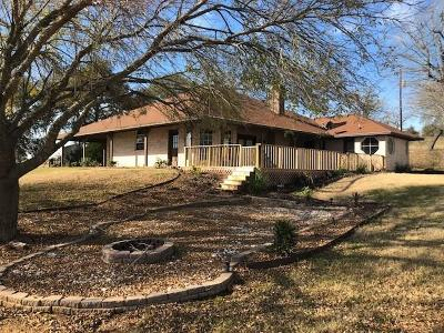 Lee County Single Family Home For Sale: 1235 Private Road 1146