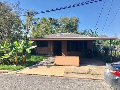 Houston Single Family Home For Sale: 3509 Hinton Boulevard