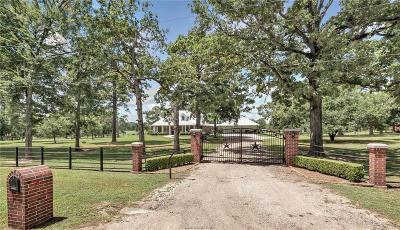 Plantersville Single Family Home For Sale: 46567 McGill Road