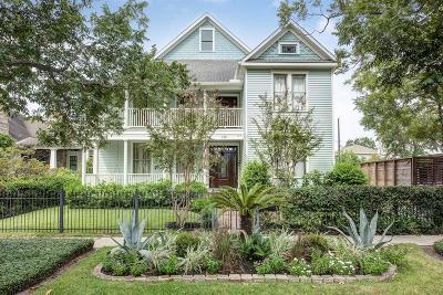Houston Single Family Home For Sale: 1421 Waverly Street