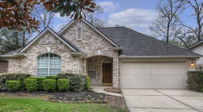 The Woodlands Single Family Home For Sale: 63 N Delta Mill Circle