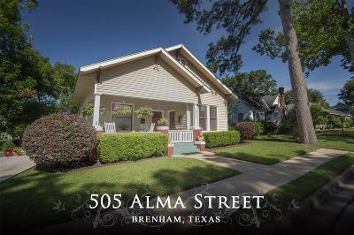 Washington County Single Family Home For Sale: 505 Alma Lane