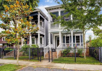 Harris County Single Family Home For Sale: 734 Allston Street #A