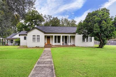 Rosenberg Single Family Home For Sale: 1507 Brooks Avenue