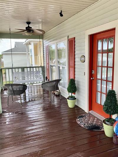 Galveston Single Family Home For Sale: 13815 Doubloon Avenue