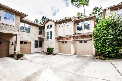 The Woodlands Condo/Townhouse For Sale: 103 Woodlily Place
