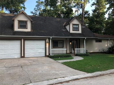 The Woodlands Single Family Home For Sale: 1320 E Red Cedar Circle