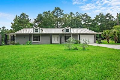 Conroe Single Family Home For Sale: 17720 Black Bass