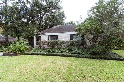 Houston Single Family Home For Sale: 1721 Idylwood Drive