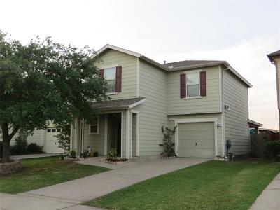 Houston Single Family Home For Sale: 451 Silky Leaf Drive