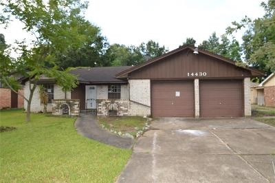 Houston Single Family Home For Sale: 14430 Wadebridge Way
