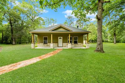Conroe Single Family Home For Sale: 7311 Dusty Lane