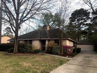 Kingwood Single Family Home For Sale: 3614 Brook Shadow Drive