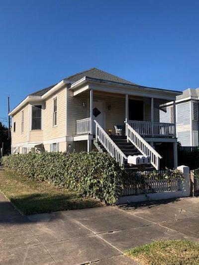 Galveston Multi Family Home For Sale: 2908 Avenue P 1/2
