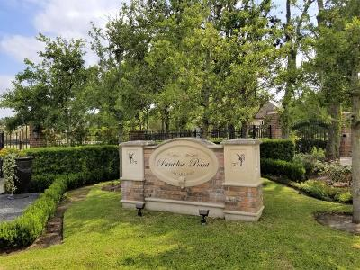Sugar Land Residential Lots & Land For Sale: 1 Paradise Point Drive
