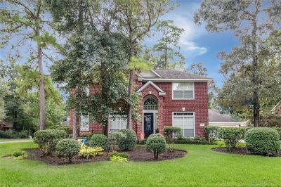The Woodlands Single Family Home For Sale: 3 Long Springs Place