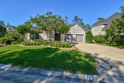 The Woodlands Single Family Home For Sale: 26 Palmer Green Place
