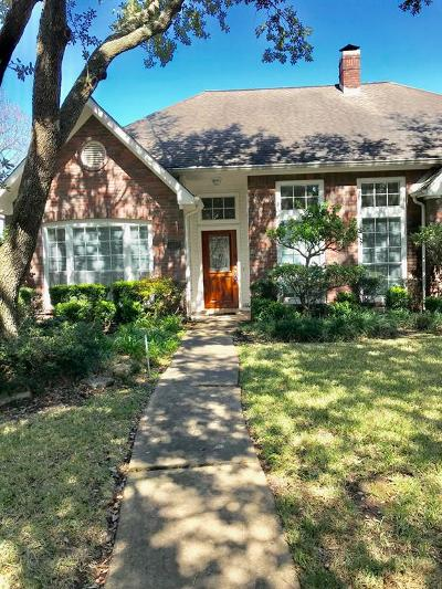 Sugar Land Single Family Home For Sale: 4407 Three Rivers Drive