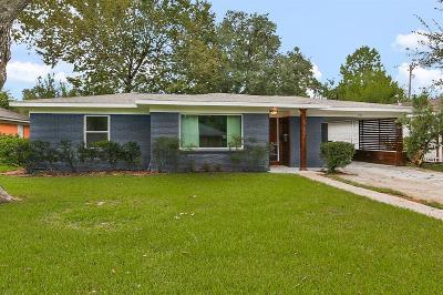 Houston Single Family Home For Sale: 6135 Indigo Street